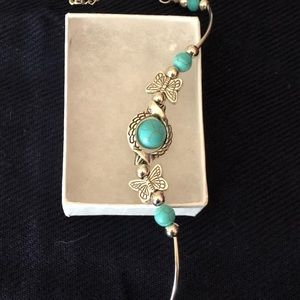 Turquoise and Silver Bracelet/ NWOT